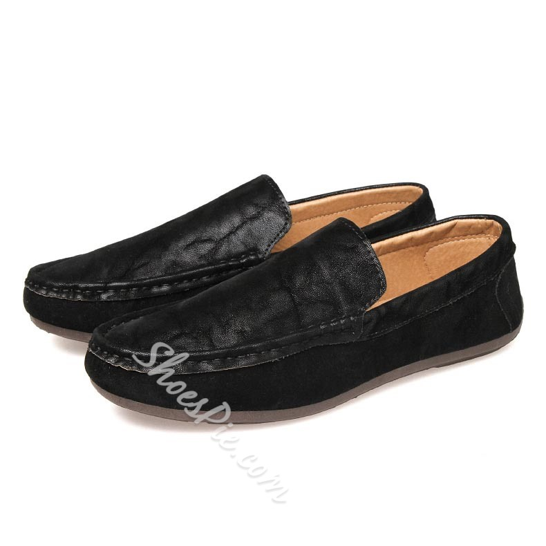 Shoespie Comfortable Round Toe Men Loafers
