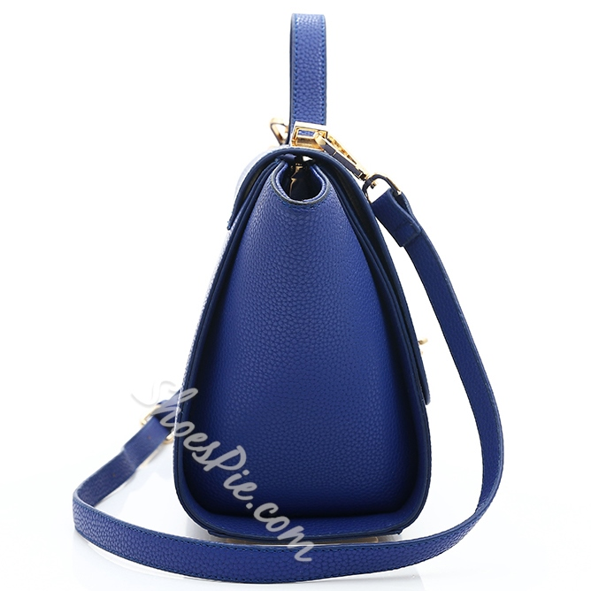 Shoespie Blue High Quality Tote Bag