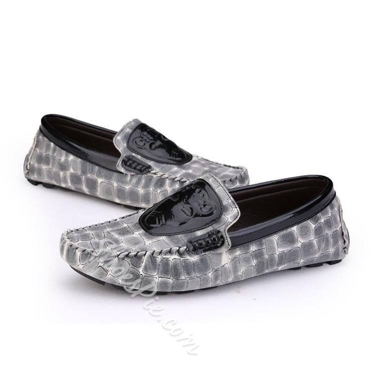 Shoespie Patchwort Men's Loafers