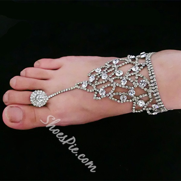 Shoespie Vintage Rhinestone Anklets