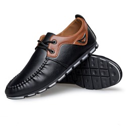 Shoespie Ruffles Lace Up Men's Shoes