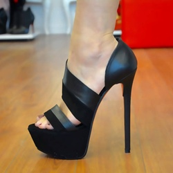 Shoespie Sexy Super High Heel Platform Sandals