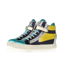 Shoespie Chic Color Block Men's Skate Sneakers