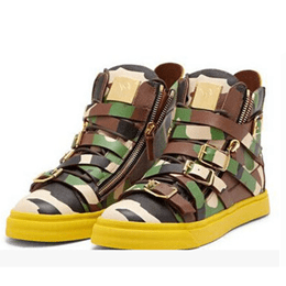 Shoespie Camouflage Print Men's Shoes