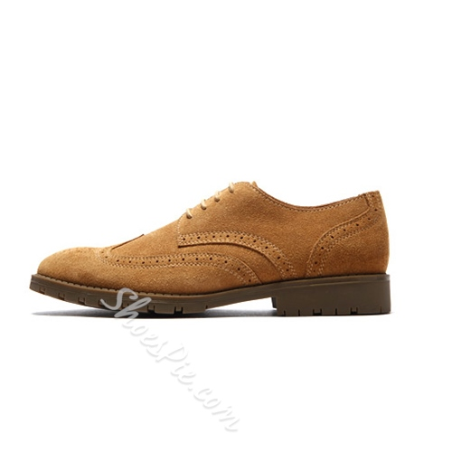Shoespie High Quality Lace Up Men's Brogues