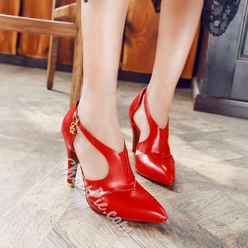 Shoespie Sexy Pointed Toe Stiletto Heels