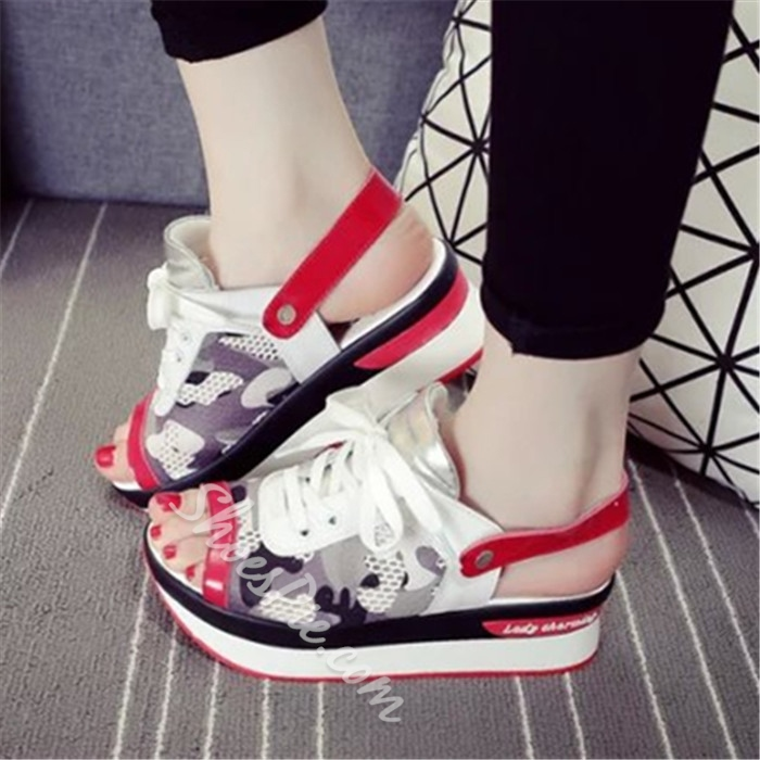 Shoespie Genuine Leather Summer Slingback Sneakers