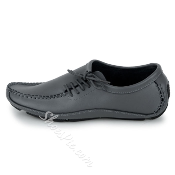 Shoespie Side Lace Up Men's Loafers