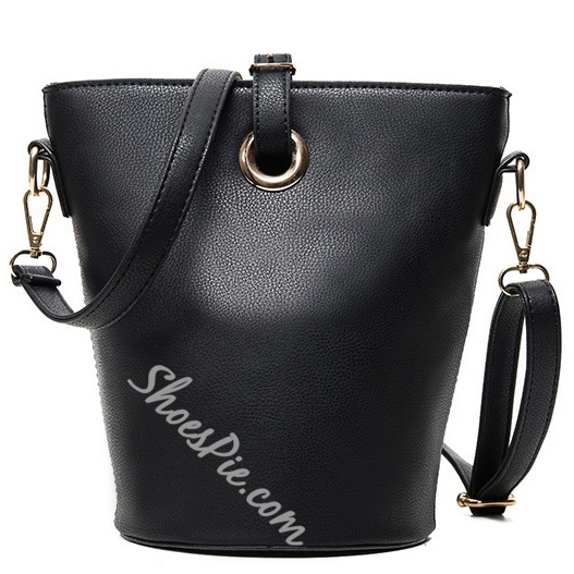 Shoespie Barrel Shape Shoulder Bag