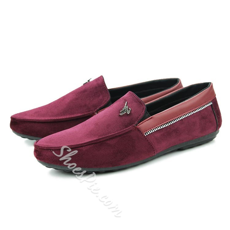 Shoespie Suede Purfled Men's Loafers