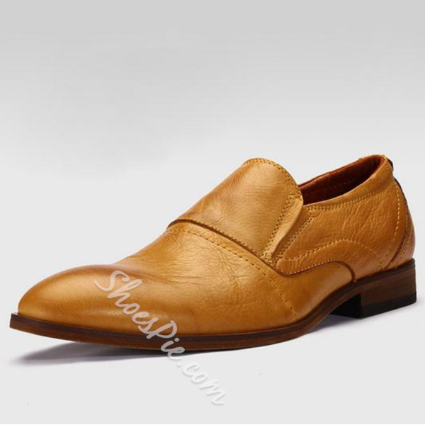 Shoespie Genuine Leather Men's Shoes