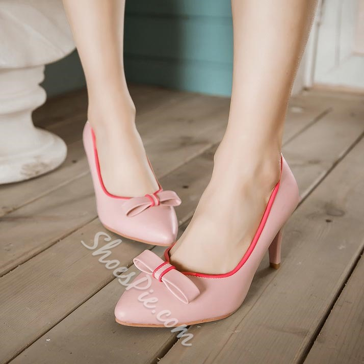 Shoespie Sweet Knot Low Heels