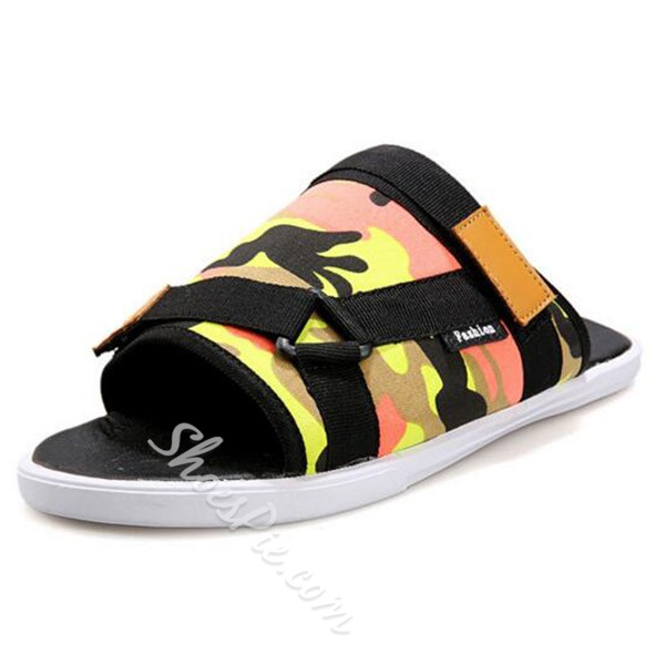 Shoespie Painted Men's Slippers