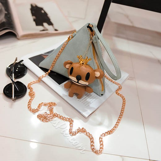 Shoespie Cute Triangle Crossbody Bag