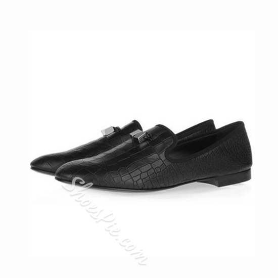 Shoespie New Arrival Crocodile Embossed Men's Shoes