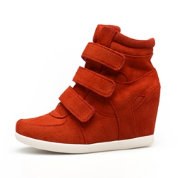 Shoespie Multi Colors Velcro Elevated Sneakers