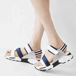 Shoespie Comfortable Velcro Flat Sandals