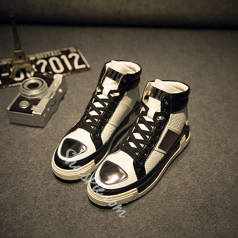 Shoespie Metal Decorated Men's Sneakers