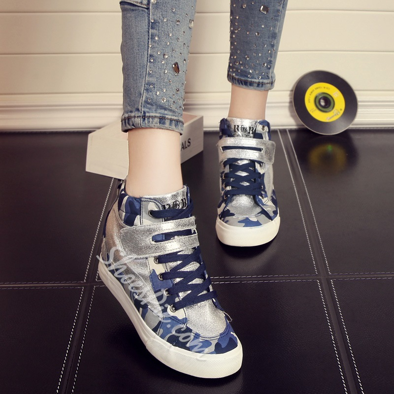 Shoespie Colorful Leopard Sneakers
