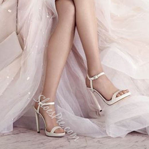 Shoespie Gorgeous Pure Wedding Shoes