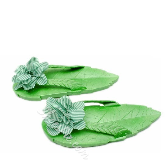 Shoespie Unique Leaf Shape Slippers