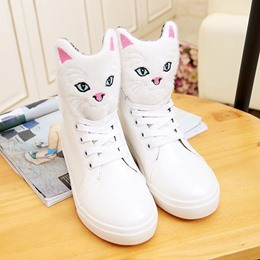 Shoespie Cute Kitty Sneakers