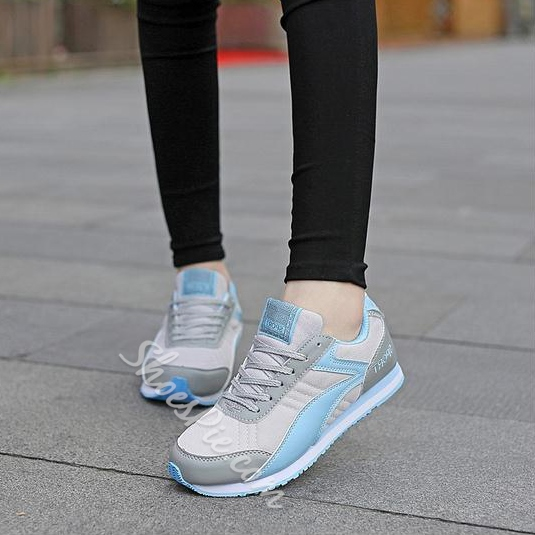 Shoespie Vibrant Color Block Sneakers