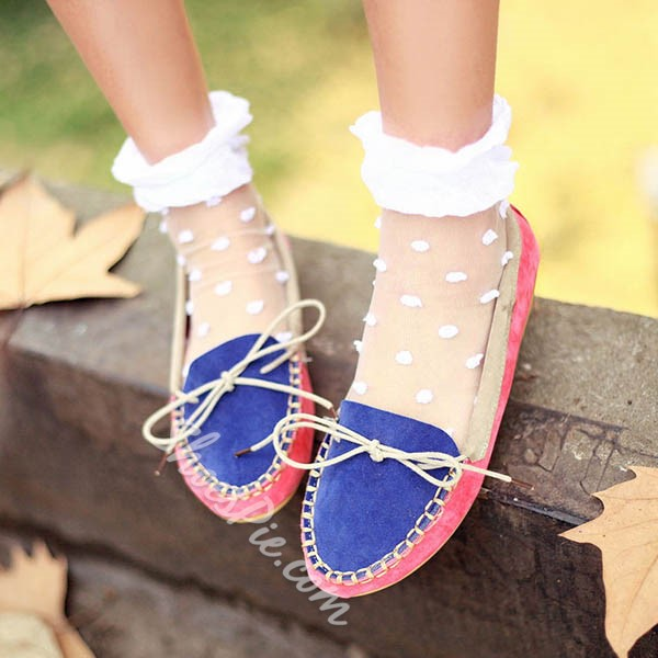 Shoespie Comfortable Lace Up Loafers