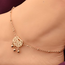 Shoespie Chinese Lucky Lock Anklets