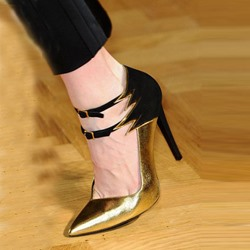 Shoespie Luxurious Double Ankle Wrap Stiletto Heels