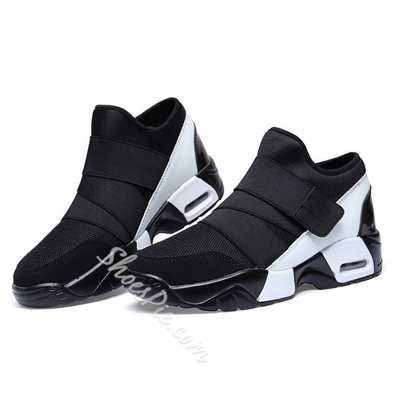 Shoespie Mesh and Bands Men's Sneakers