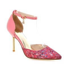 Shoespie Colorful Printed Stiletto Heels