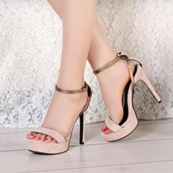 Shoespie Concise Platform Sandals