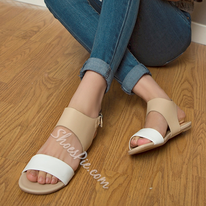 Shoespie Normcore Flat Sandals