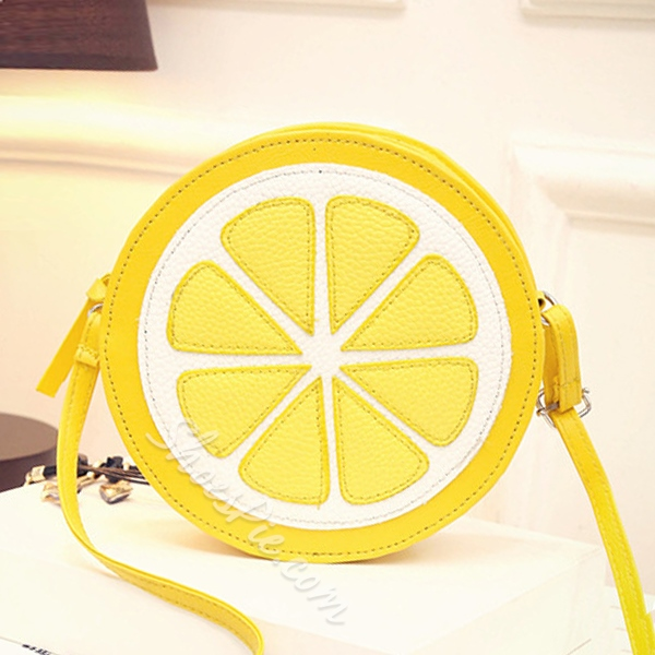 Shoespie Fashion Lemon Shape Handbag