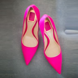 Shoespie Chic Peach Pointed Toe Stiletto Heels