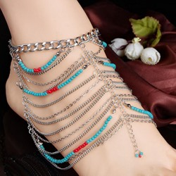 Shoespie Fashion Layered Anklet(Single)
