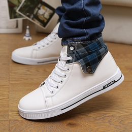 Shoespie Patchwork Sneakers