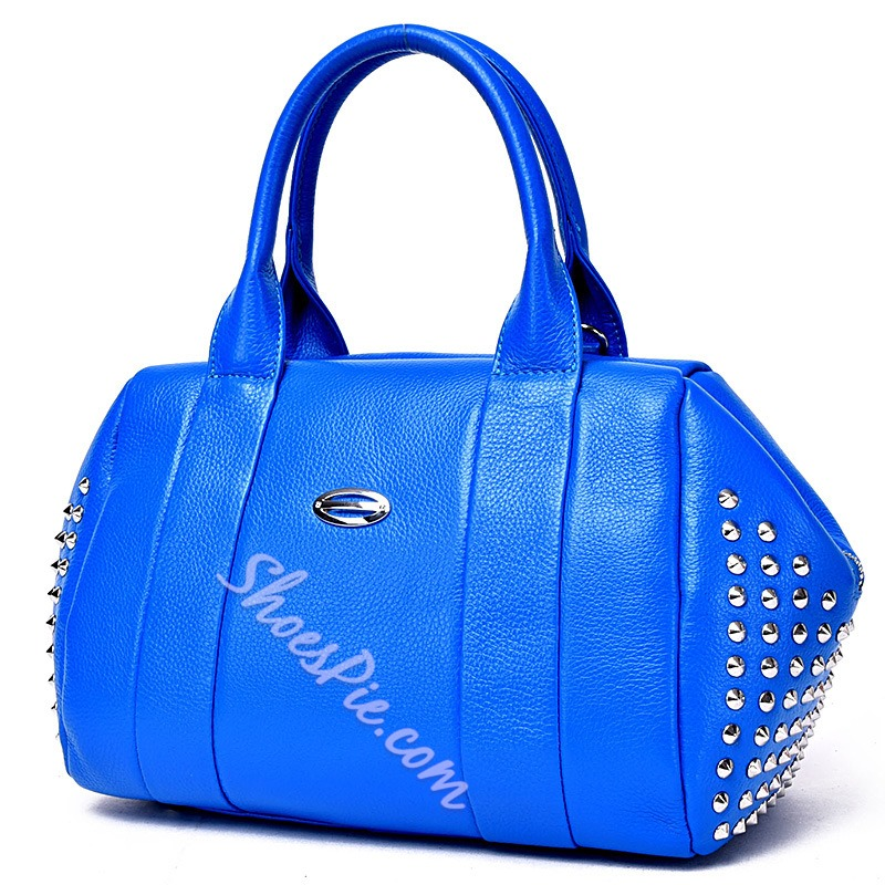 Shoespie Savvy Style Rivets Tote Bag