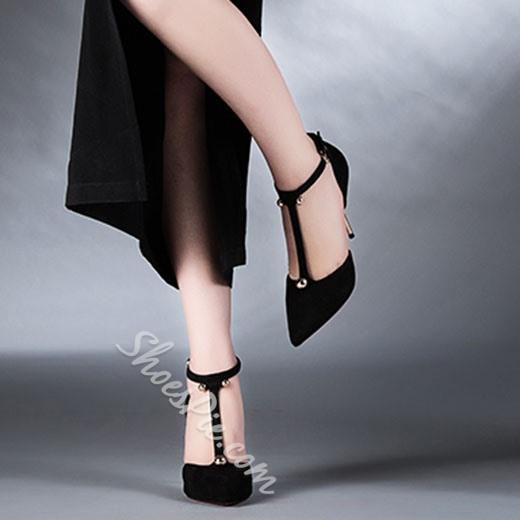 Shoespie Chic Solid Color Stiletto Heels