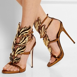 Shoespie Strappy Stiletto Heel Dress Sandals