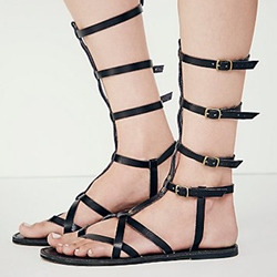 Shoespie Strappy Gladiator Sandals
