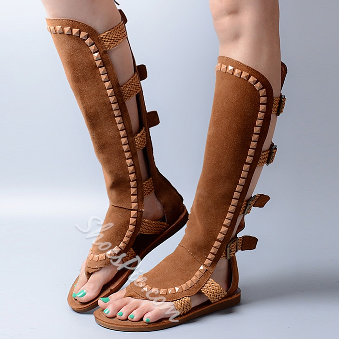 Shoespie Unique Design Gladiator Sandals