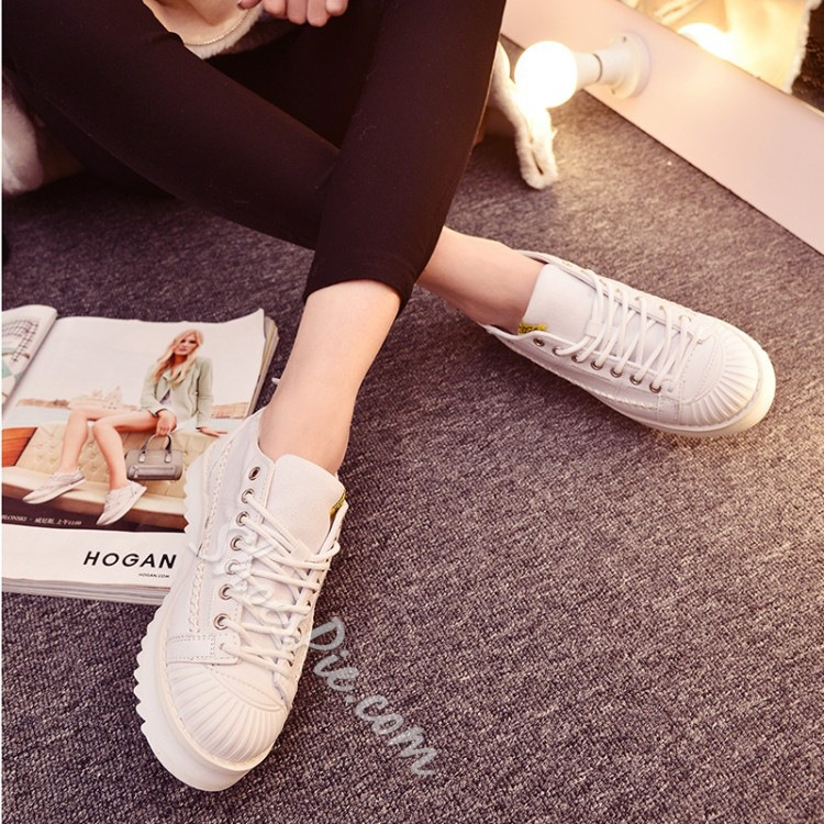 Shoespie Chic Threading Sneakers
