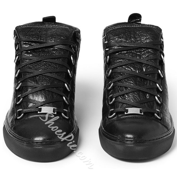 Shoespie Unique Lace Up Men's Sneakers