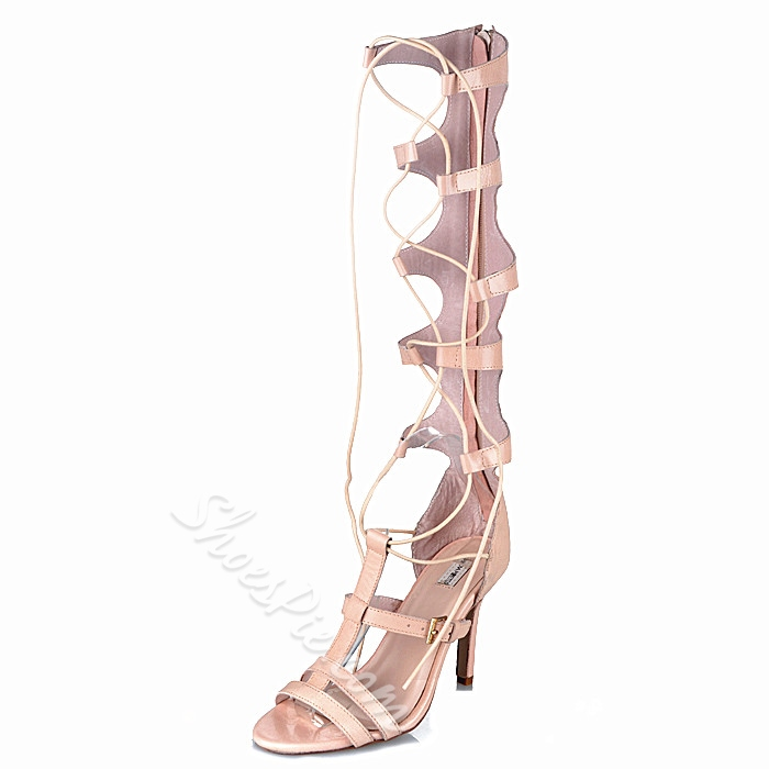 Shoespie Sexy Wrap Up Knee High Sandals