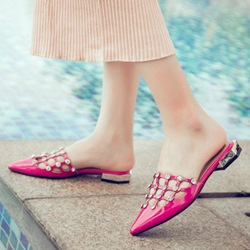 Shoespie Smart Cage Mules Shoes