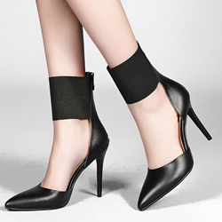 Shoespie Chic Ankle Wrap Stiletto Heels