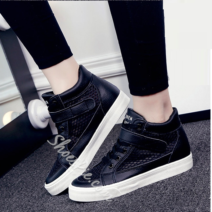 Shoespie Mesh Velcro Sneakers