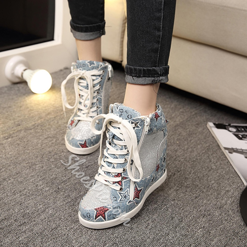 Shoespie Chic Demin Sneakers